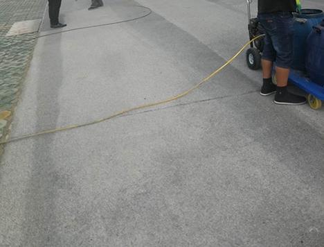 溫江惠民市場地坪案例